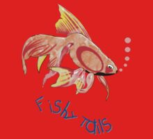 Lots of Fishy Tails T-shirt, etc. design Baby Tee