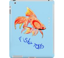 Lots of Fishy Tails T-shirt, etc. design iPad Case/Skin