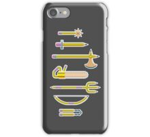 Pencil Weaponry iPhone Case/Skin