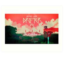 Hyper Light Drifter - Poster - The City Art Print