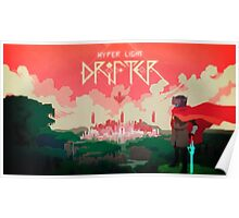 Hyper Light Drifter - Poster - The City Poster
