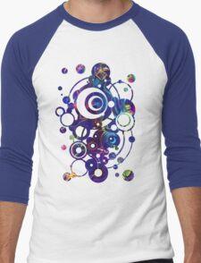 Fibroblasts  - Watercolor Painting Men's Baseball ¾ T-Shirt