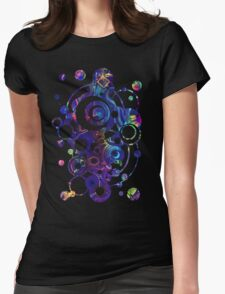 Fibroblasts  - Watercolor Painting Womens Fitted T-Shirt