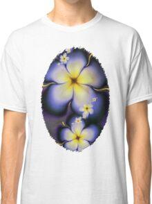 Petite Fleur Jaune Fractal Classic T-Shirt