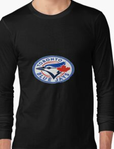 blue jays logo Long Sleeve T-Shirt