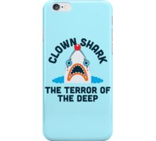 Clown Shark - Terror of the Deep iPhone Case/Skin