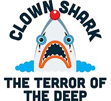 Clown Shark - Terror of the Deep Photographic Print