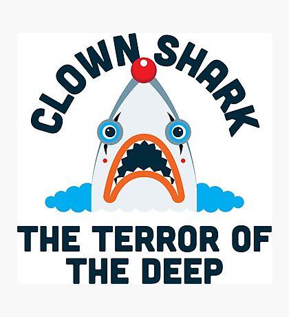 Clown Shark - Terror of the Deep Photographic Print