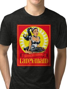 Latex-Maid - Color Tri-blend T-Shirt