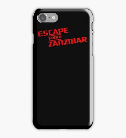 MGS - Escape From Zanzibar iPhone Case/Skin