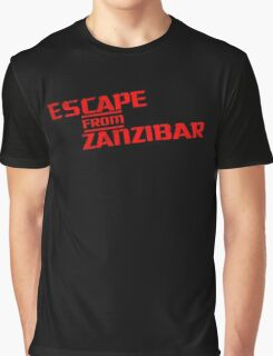 MGS - Escape From Zanzibar Graphic T-Shirt