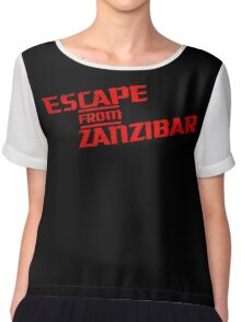 MGS - Escape From Zanzibar Chiffon Top