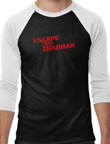 MGS - Escape From Zanzibar Men's Baseball ¾ T-Shirt