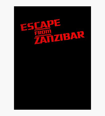 MGS - Escape From Zanzibar Photographic Print