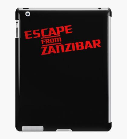 MGS - Escape From Zanzibar iPad Case/Skin
