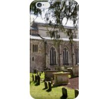St Mary's Berkeley with  Jester's Tomb iPhone Case/Skin