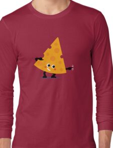 Character Fusion - Just Cheese Long Sleeve T-Shirt