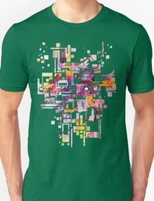 Sunberry - Abstract Watercolor Painting Unisex T-Shirt