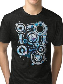 Sub-Atomic Stress Release Therapy - Watercolor Painting Tri-blend T-Shirt