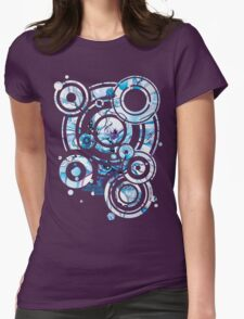 Sub-Atomic Stress Release Therapy - Watercolor Painting Womens Fitted T-Shirt