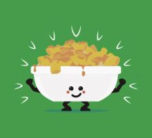 Character Fusion - Just Mac&Cheese Baby Tee