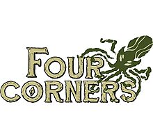 Four Corners colour logo - for light backgrounds Photographic Print