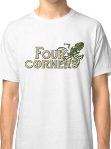 Four Corners colour logo - for light backgrounds Classic T-Shirt