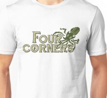Four Corners colour logo - for light backgrounds Unisex T-Shirt