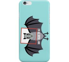 DON'T BLAME THE OLD BAT iPhone Case/Skin