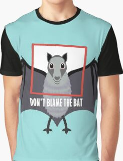 DON'T BLAME THE OLD BAT Graphic T-Shirt