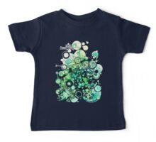 Visible Connections - Watercolor and Pen Art Baby Tee