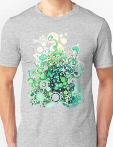 Visible Connections - Watercolor and Pen Art Unisex T-Shirt