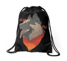 Lets go Pal Drawstring Bag