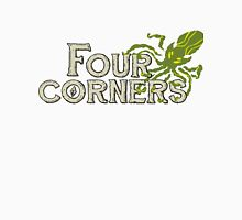 Four Corners colour logo - for dark backgrounds Unisex T-Shirt