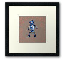 Robot Gauge Framed Print