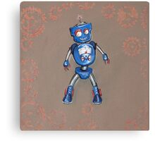 Robot Gauge Canvas Print