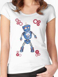 Robot Gauge Women's Fitted Scoop T-Shirt