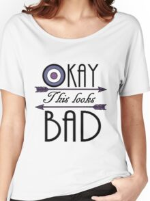 Okay... This looks bad Women's Relaxed Fit T-Shirt