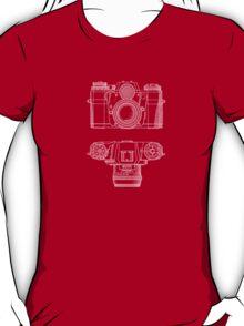Vintage Photography - Contarex Blueprint T-Shirt