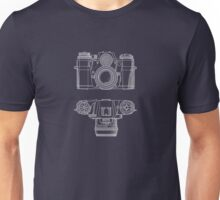 Vintage Photography - Contarex Blueprint Unisex T-Shirt
