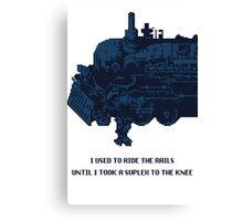 Final Fantasy VI Sabin Canvas Print