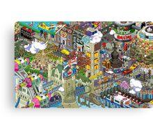 PIXEL WORLD Canvas Print