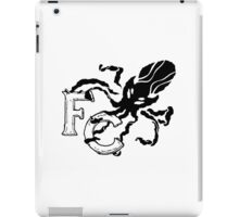 Four Corners crest - black and white iPad Case/Skin
