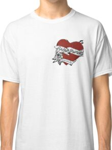 Babyshambles, Pete Doherty, heart tattoo design Classic T-Shirt
