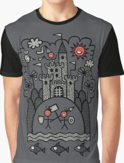 Lust & Lewdness Inducing Vicious Medieval Carnage Graphic T-Shirt