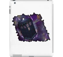 Blue Box in Space iPad Case/Skin