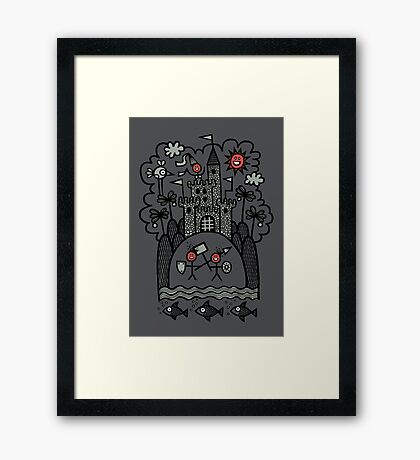 Lust & Lewdness Inducing Vicious Medieval Carnage Framed Print