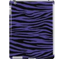 0198 Dark Slate Blue Tiger iPad Case/Skin