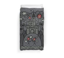 Lust & Lewdness Inducing Vicious Medieval Carnage Duvet Cover