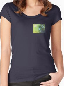 Serenity Prayer Bachelor's Buttons Women's Fitted Scoop T-Shirt